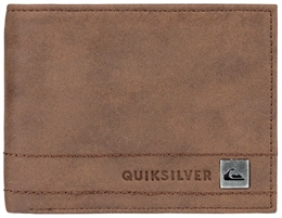 4391fb5f18c9b Quiksilver Portfel męski New Classical Plus Brown