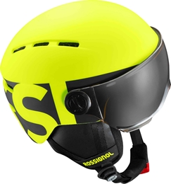 Rossignol Kask Juniorski Visor Jr Yellow/Black