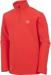 Rossignol bluza juniorska Boy 1/2 Zip Crimson
