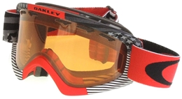 OAKLEY gogle O2 XS Red/Persimm. Shaun White Series