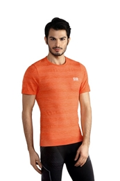 GATTA T-shirt Asica Seamless Ziggy orange