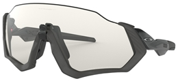 OAKLEY okulary Flight Jacket Steel GryInk