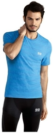 GATTA T-shirt Asica Seamless Ziggy blue