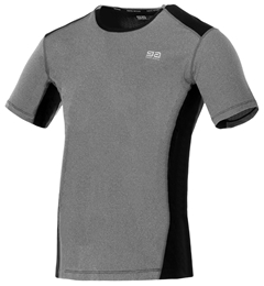 GATTA Runner T-shirt Men grey/black