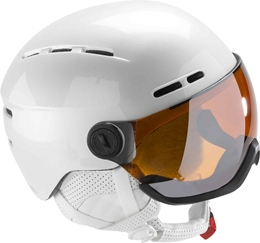 Rossignol kask damski Visor Single Lense White