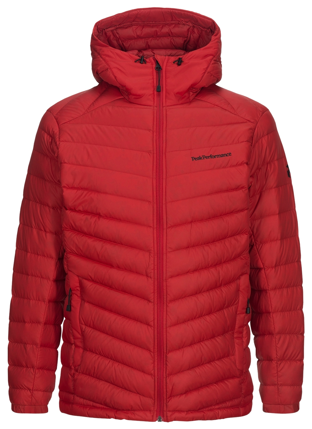 Peak Performance kurtka FROST DOWN HOODED Red