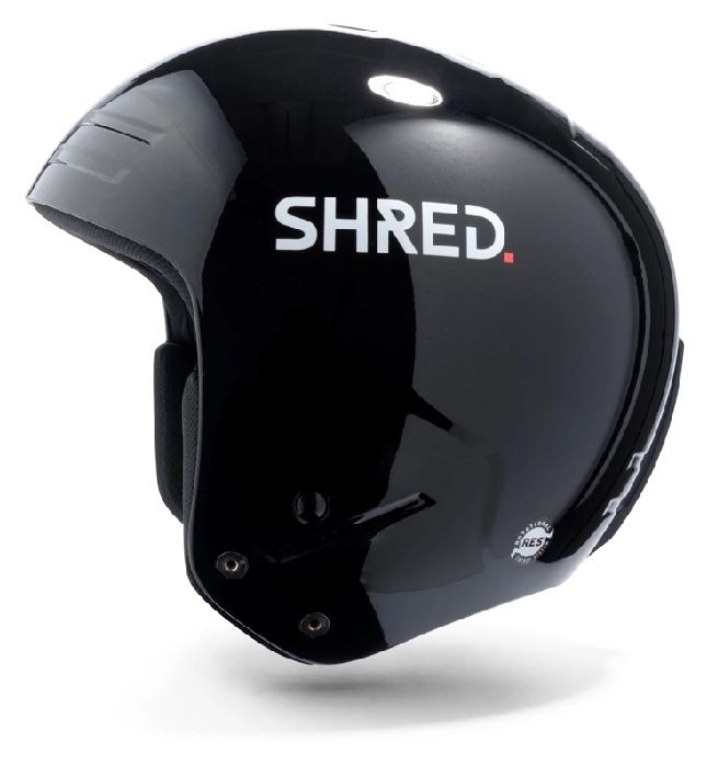 Shred Kask Narciarski Basher Black