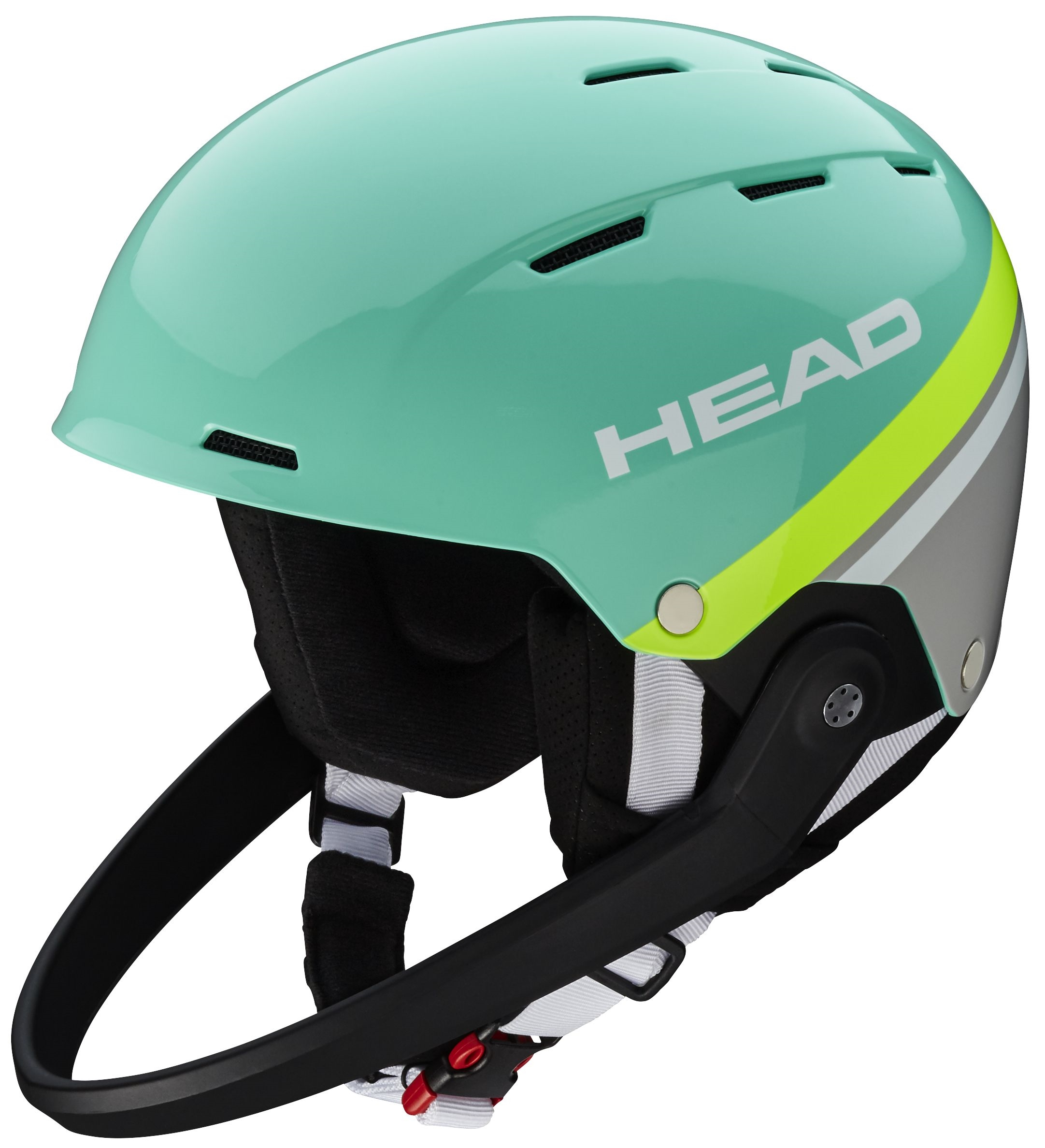 Head kask narciarski Team SL turquoise/grey