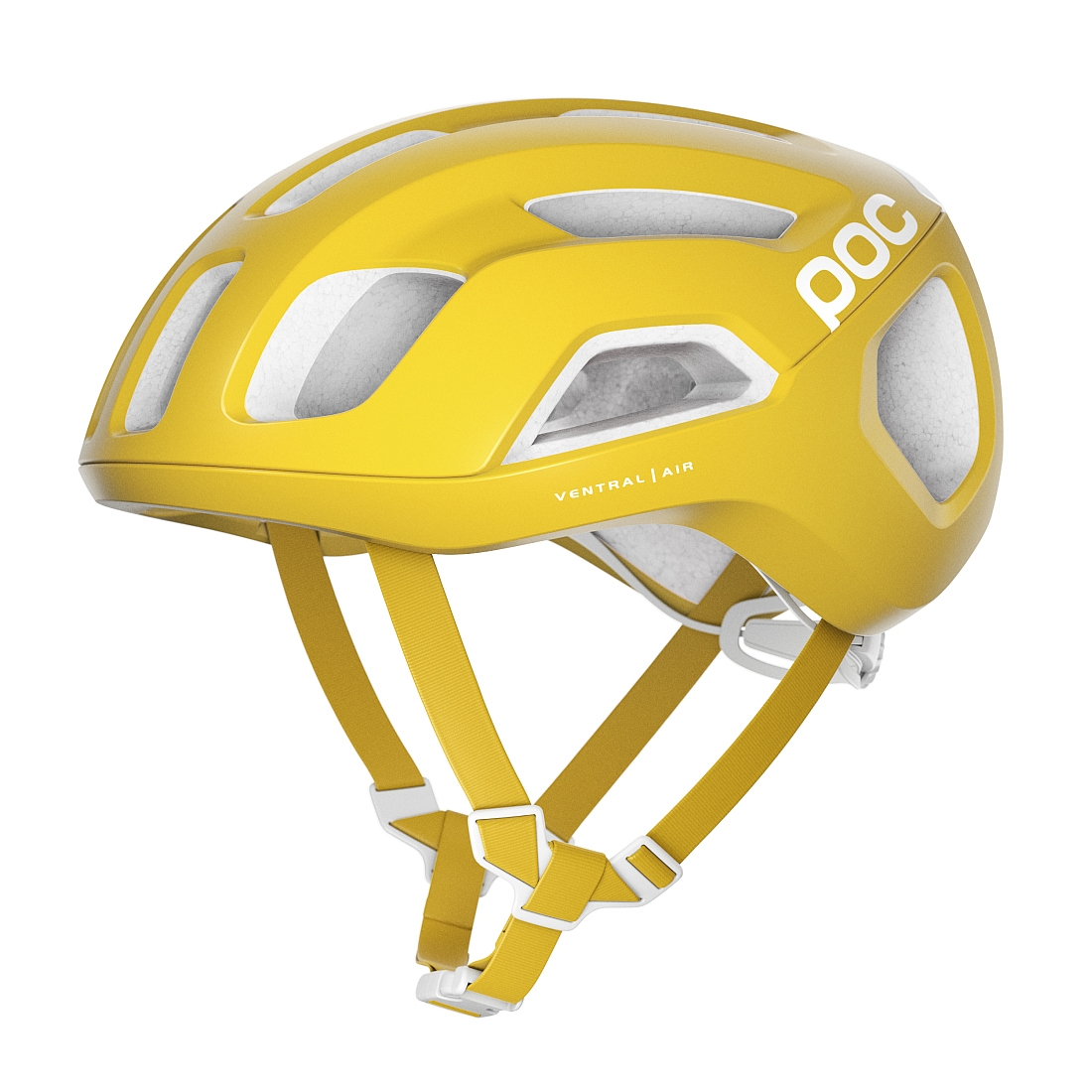 POC Kask rowerowy szosowy VENTRAL Air Spin Yellow
