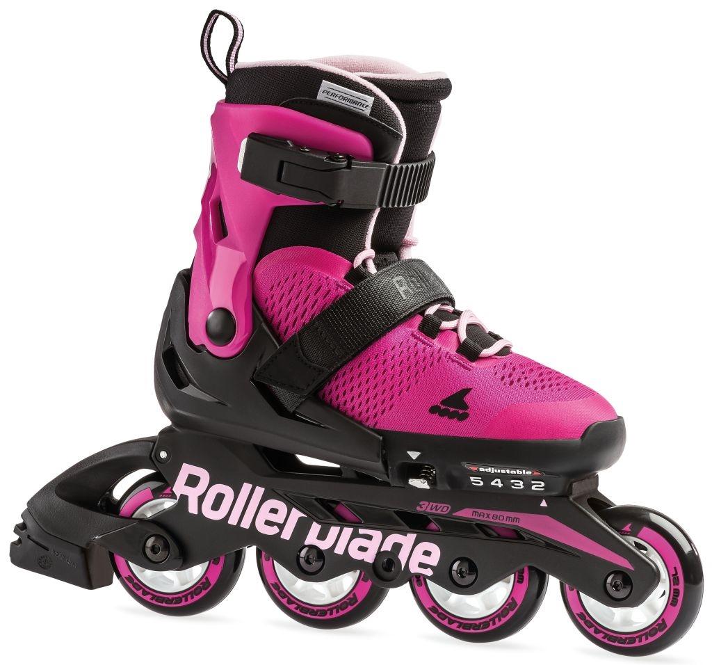 0523f958 Rollerblade Rolki Microblade G Pink/Bubblegum